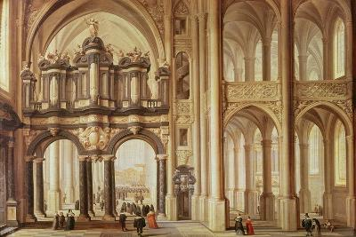 Interior of a Church-Dirck Van Delen-Giclee Print