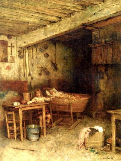 Interior of a Cottage-Alexei Alexevich Harlamoff-Giclee Print
