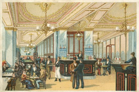 Interior of a Hotel--Giclee Print