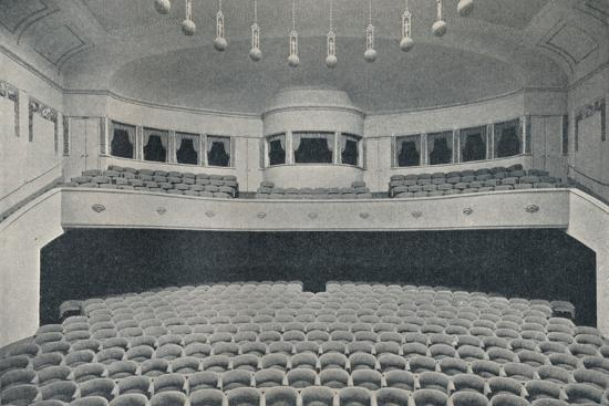 'Interior of a new Kino Theatre in the West End of Berlin', c1913-Unknown-Photographic Print