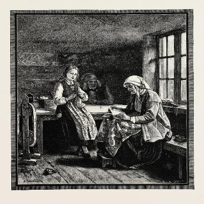 Interior of a Norwegian House--Giclee Print