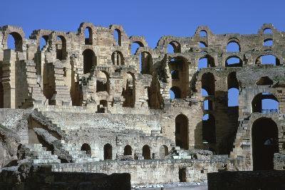 Interior of a Roman Colosseum, 3rd Century-CM Dixon-Photographic Print