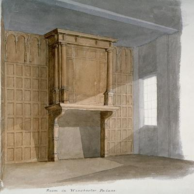 Interior of a Room in Winchester House, Winchester Place, London, C1830--Giclee Print
