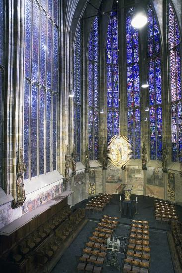 Interior of Aachen Cathedral--Photographic Print