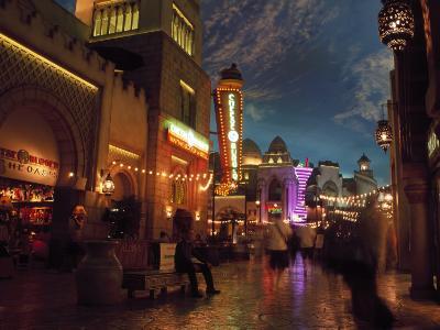 Interior of Aladdin Casino Hotel, Las Vegas-Mark Gibson-Photographic Print