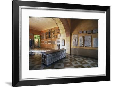 Interior of Archiepiscopal Museum--Framed Photographic Print
