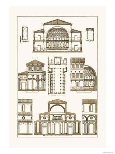 Interior of Basilica-J^ Buhlmann-Art Print