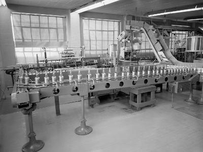 Interior of Bottling Plant With Conveyor Belts-H^ Armstrong Roberts-Photographic Print