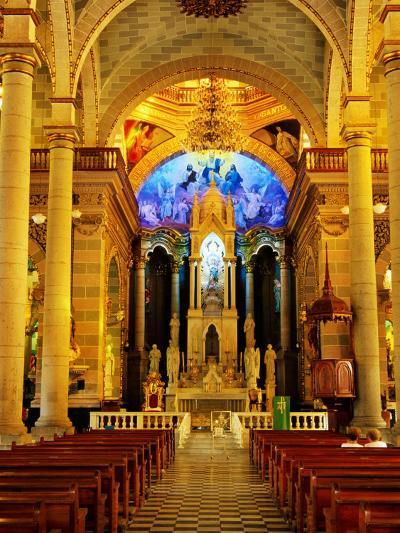 Interior of Cathedral, Mazatlan, Mexico-Richard Cummins-Photographic Print