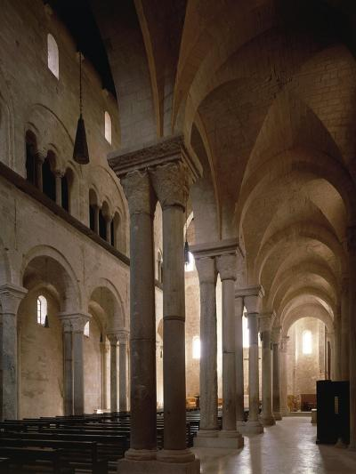 Interior of Cathedral of San Nicola Pellegrino, Trani, Apulia, Italy, 12th Century--Giclee Print