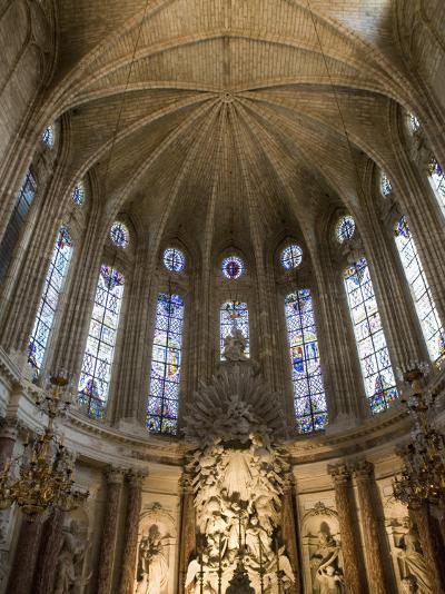 Interior of Cathedrale St.-Nazaire, Beziers, Herault, Languedoc-Roussillon, France, Europe-Martin Child-Photographic Print