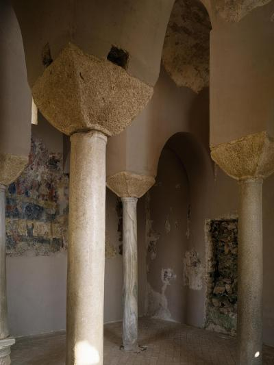 Interior of Catholic Church of Stilo, Calabria, Italy, 9th-10th Century--Giclee Print