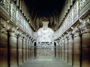 Interior of Cave 26