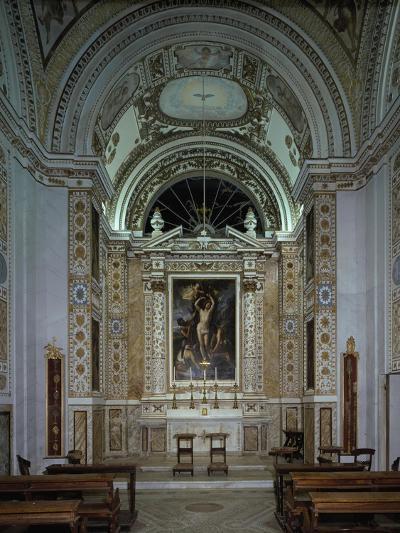 Interior of Chapel of Villldobrandini, Frascati, Italy, 16th-17th Century--Giclee Print