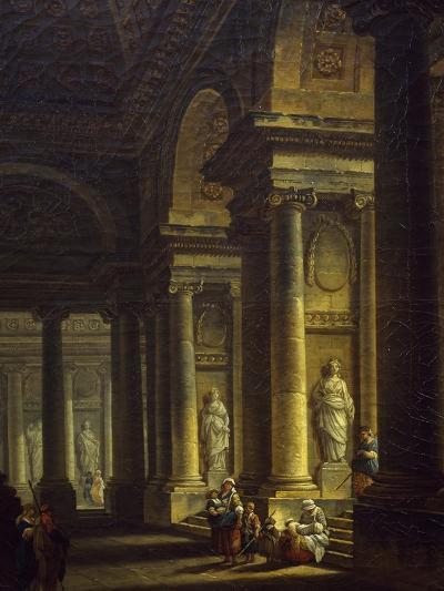 Interior of Church, 1771--Giclee Print