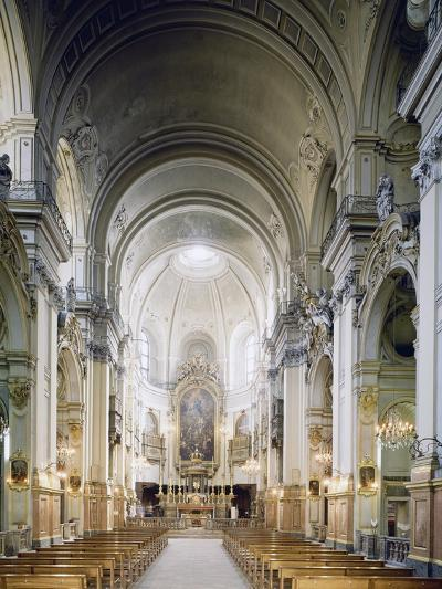 Interior of Church of Carmine in Turin, Built in 1732-1736--Giclee Print