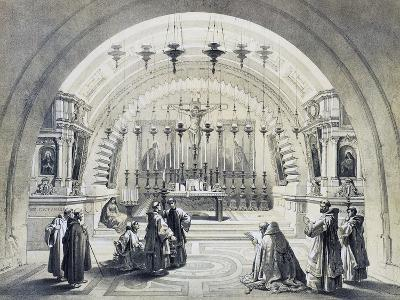 Interior of Church of Holy Sepulchre--Giclee Print