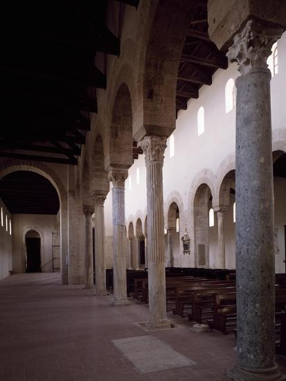 Interior of Co-Cathedral of Santa Maria Assunta, Gerace, Calabria, Italy, 11th-15th Century--Giclee Print