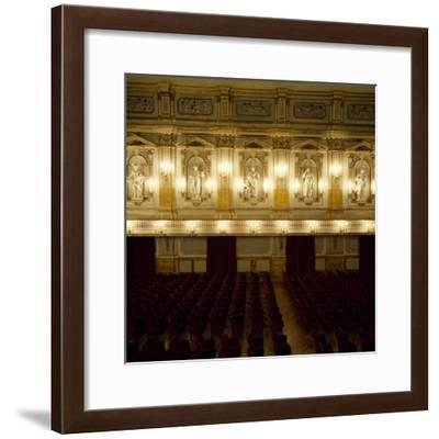 Interior of Court Theatre, 1768--Framed Photographic Print