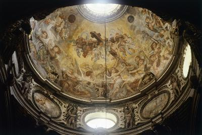 Interior of Dome of Lecce Cathedral, Apulia, Italy--Giclee Print
