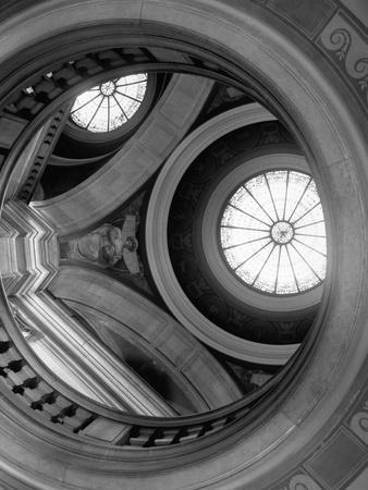 Interior of Essex County Courthouse Rotunda-Karen Tweedy-Holmes-Photographic Print