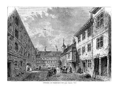 Interior of Furnival's Inn. 1754--Giclee Print