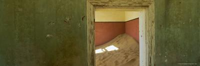 Interior of German House in the Deserted Mining Town of Kolmanskop-Lee Frost-Photographic Print