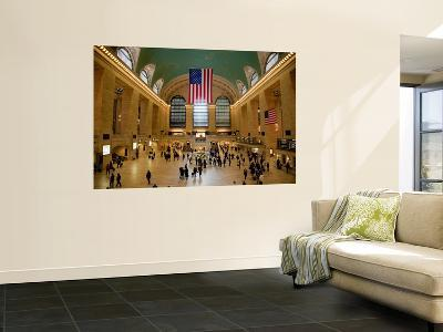 Interior of Grand Central Terminus-Richard l'Anson-Wall Mural