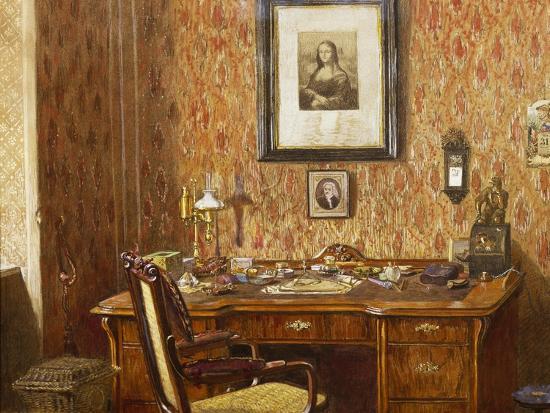 Interior of Johannes Brahms'--Giclee Print