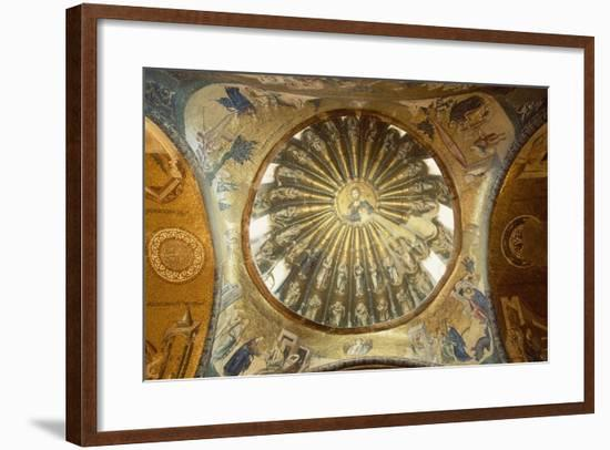 Interior of Kariye Mosque--Framed Photographic Print