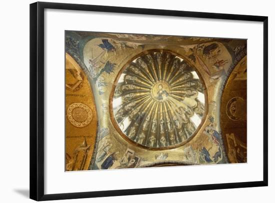Interior of Kariye Mosque--Framed Photographic Print
