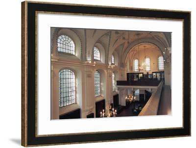 Interior of Klaus Synagogue--Framed Photographic Print