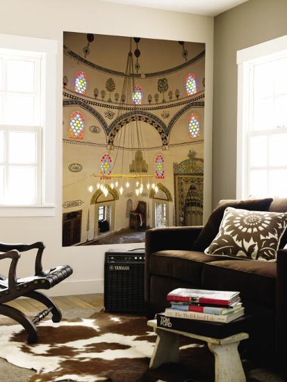 Interior of Koski Mehmed Pasa Mosque-Richard l'Anson-Wall Mural