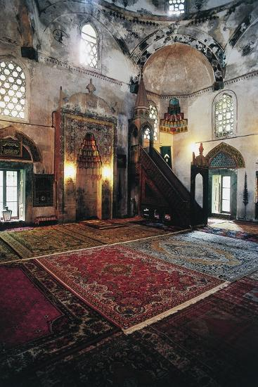 Interior of Mosque in Mostar (Unesco World Heritage List, 2005), Bosnia and Herzegovina--Giclee Print