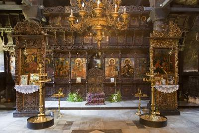 Interior of Most Holy Mother of God Church (1835) in Monastery of Dormition (Troyan Monastery)--Photographic Print