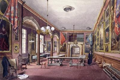 Interior of Painter-Stainers' Hall, London, 1888-John Crowther-Giclee Print