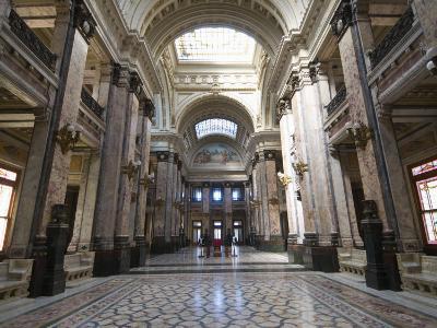 Interior of Palacio Legislativo, the Main Building of Government, Montevideo, Uruguay-Robert Harding-Photographic Print
