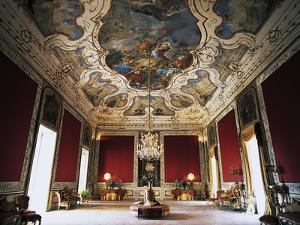 Interior of Palazzo Ajutamicristo, Palermo, Sicily, Italy