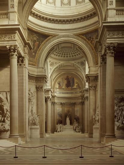 Interior of Pantheon in Paris--Giclee Print