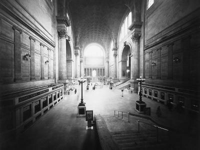 Interior of Pennsylvania Station-Philip Gendreau-Photographic Print