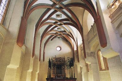 Interior of Pinkas Synagogue--Photographic Print