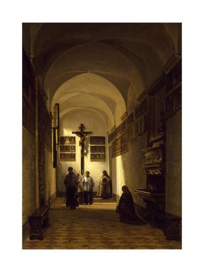 Interior of San Rocco Church in Parma-Luigi Marchesi-Giclee Print