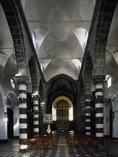 Interior of Sant Antonio Chapel in Lerici--Giclee Print