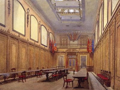 Interior of Skinners' Hall, London, 1890-John Crowther-Giclee Print