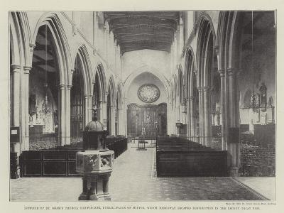 Interior of St Giles's Church--Giclee Print