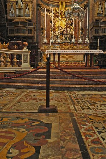 Interior of St. Johns Co-Cathedral, Valletta--Photographic Print