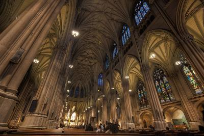 Interior of St Patrick's Cathedral, Manhattan-EvanTravels-Photographic Print