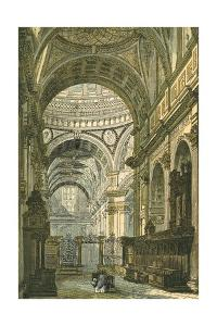 Interior of St Paul's Cathedral, London