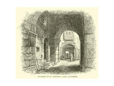 Interior of St Stephen's Gate, Jerusalem--Giclee Print