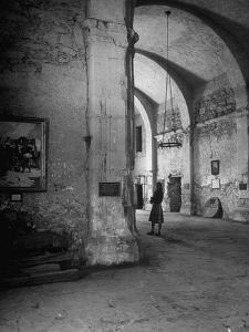 Interior of the Alamo